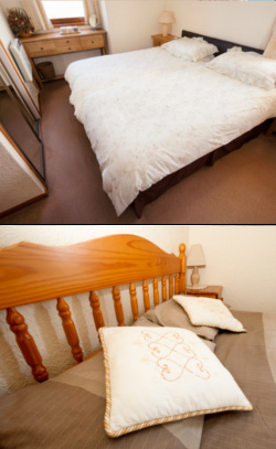 Our luxurious bedrooms allow you to rest in comfort within our holiday cottage and dream of the caithness countryside.